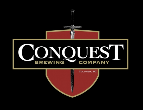 Conquest Box Label Black With Glow